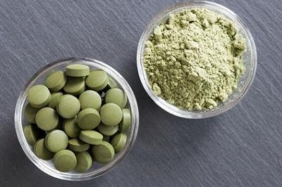 New ingredient! Organic chlorella
